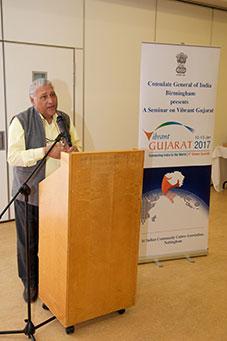 Seminar on 'Vibrant Gujarat'