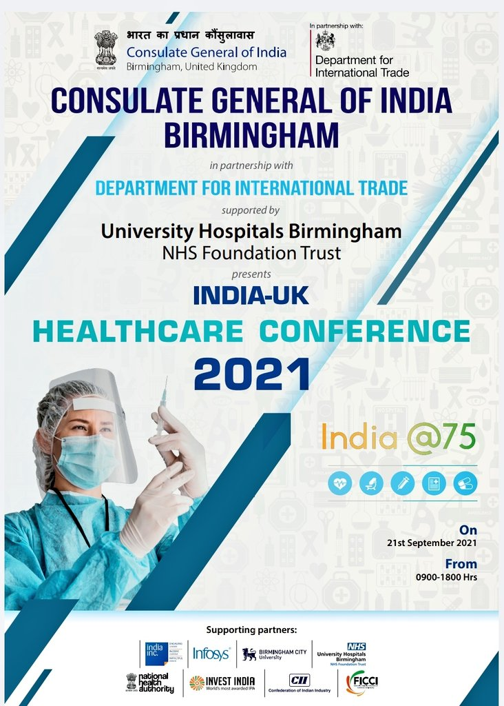 India-UK Healthcare Conference 2021