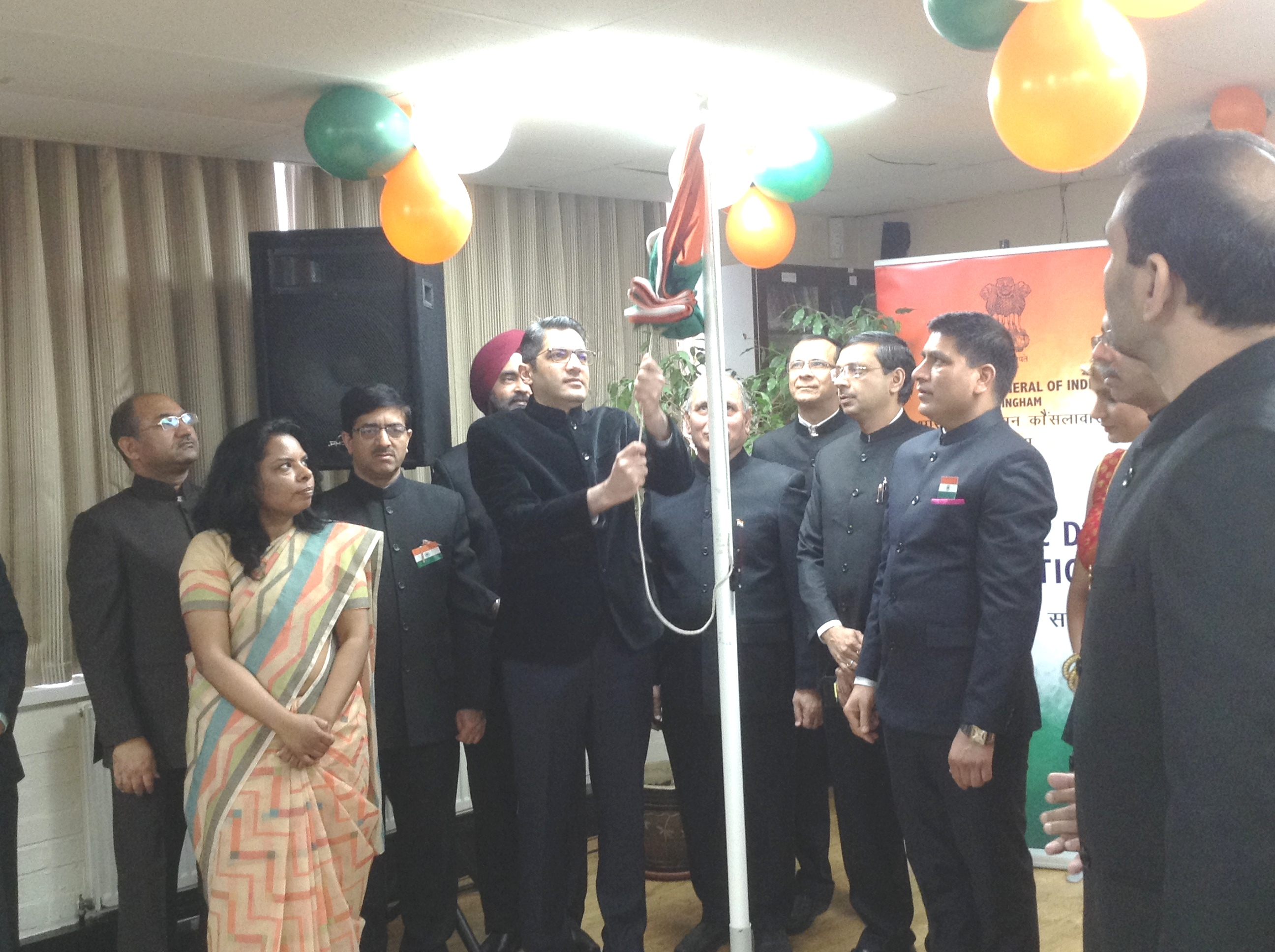 Celebration of 70th Republic Day at CGI,Birmingham