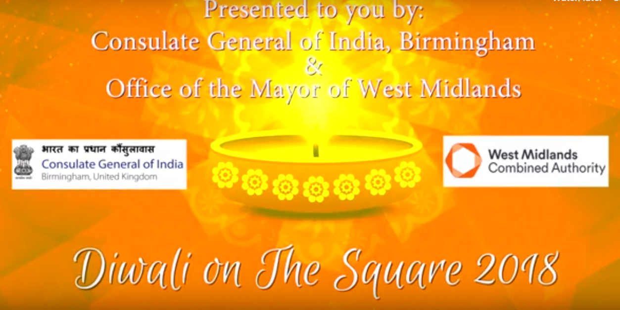 Diwali on Square - 2018 Birmingham